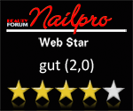 Websitecheck von NailPro